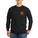 Canada Maple Leaf Souvenir Long Sleeve Dark T-Shir