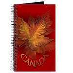 Canada Maple Leaf Souvenir Journal