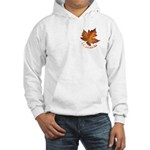 Canada Maple Leaf Souvenir Hooded Sweatshirt