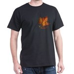 Canada Maple Leaf Souvenir Dark T-Shirt