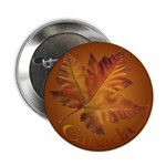 Canada Maple Leaf Souvenir Buttons 10 pack