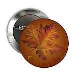 Canada Maple Leaf Souvenir Button