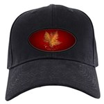 Canada Maple Leaf Souvenir Black Cap