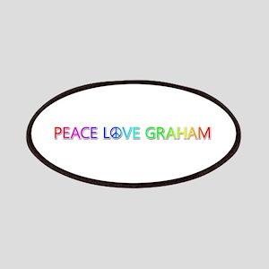 Peace Love Graham Patch