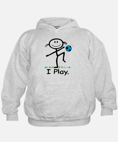 Cute Soccer girls Hoody