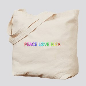 Peace Love Elsa Tote Bag