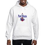 New Orleans Blues Hooded Sweatshirt