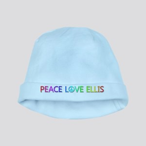 Peace Love Ellis baby hat