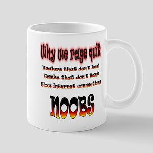 Reasons gamers rage quit Mugs