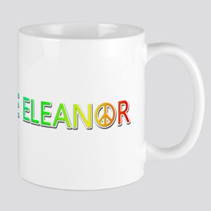 Peace Love Eleanor Mugs