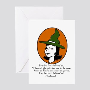 Halloween humor art patches stationery cafepress traditional verse greeting card m4hsunfo