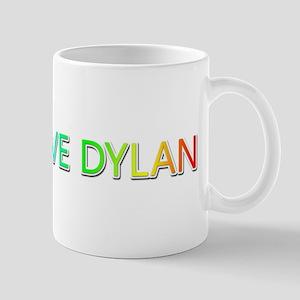 Peace Love Dylan Mugs