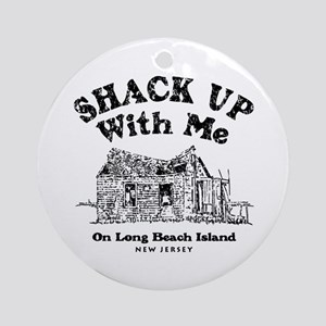 Shack_Up.tif Round Ornament