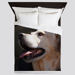 Labrador yellow Queen Duvet