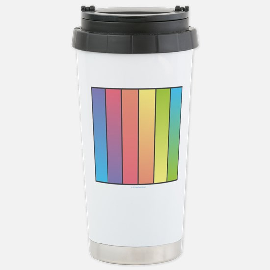 Rainbow Blend Stainless Steel Travel Mug