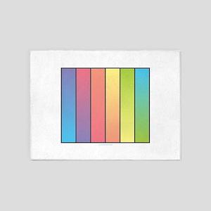 Rainbow Blend 5'x7'Area Rug