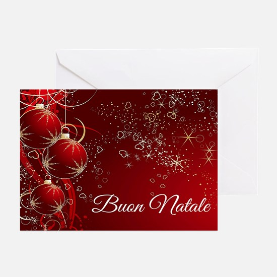 Buon Natale Greeting Cards