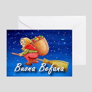Buona Befana Greeting Cards