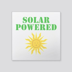 Solar Powered Sticker