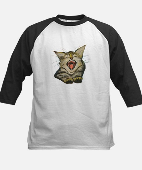 Kitty Laughing Baseball Jersey