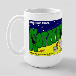 Welcome to Kotzebue Large Mug