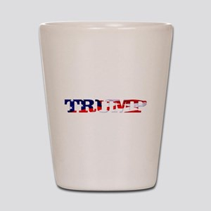 Trump - American Flag Shot Glass
