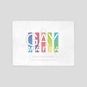 Gay Mafia 5'x7'Area Rug