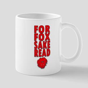 For Fox Sake Read Mugs