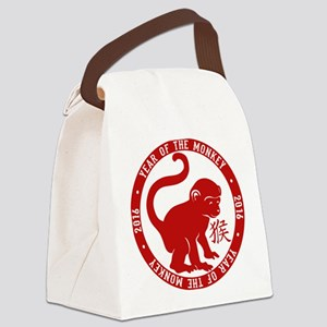 2016 Year Of The Monkey Canvas Lunch Bag