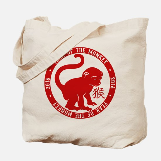 2016 Year Of The Monkey Tote Bag