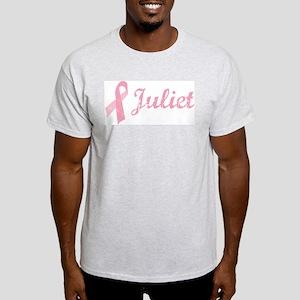Juliet vintage pink ribbon Light T-Shirt