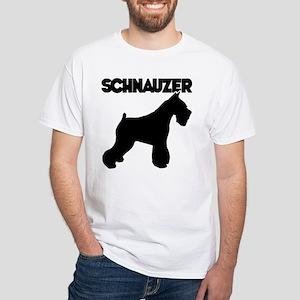 SCHNAUZER White T-Shirt