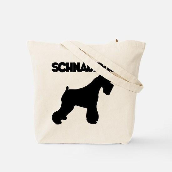 SCHNAUZER (both sides) Tote Bag