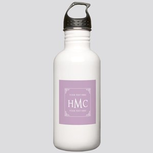Lilac Vintage Frame Cu Stainless Water Bottle 1.0L