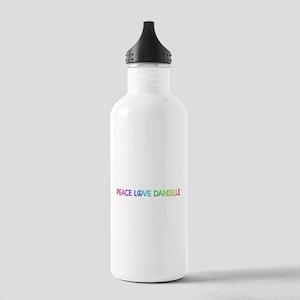 Peace Love Danielle Water Bottle