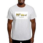 Animals taste good. Ash Grey T-Shirt