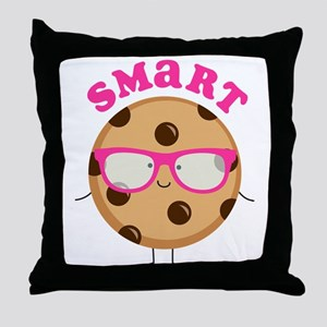 Smart Cookie Throw Pillow