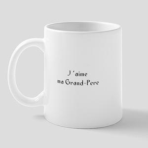 J 'aime ma Grand-Pere Mug