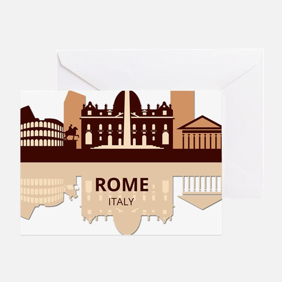 Cute International cities Greeting Card