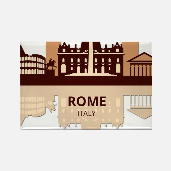Funny Capitol city Rectangle Magnet
