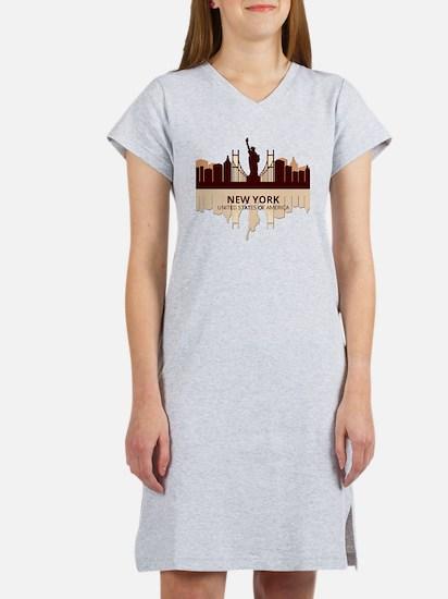 Cute International cities Women's Nightshirt