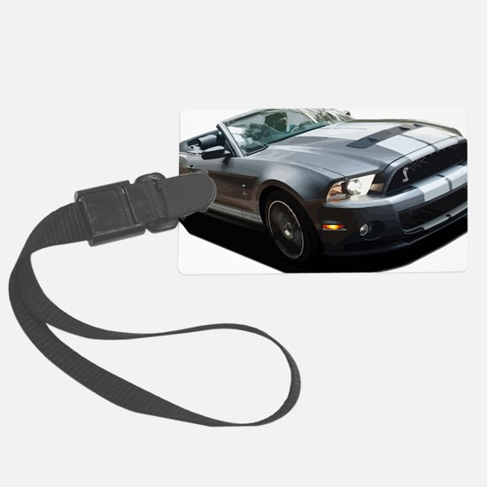 Funny Ford mustang Large Luggage Tag
