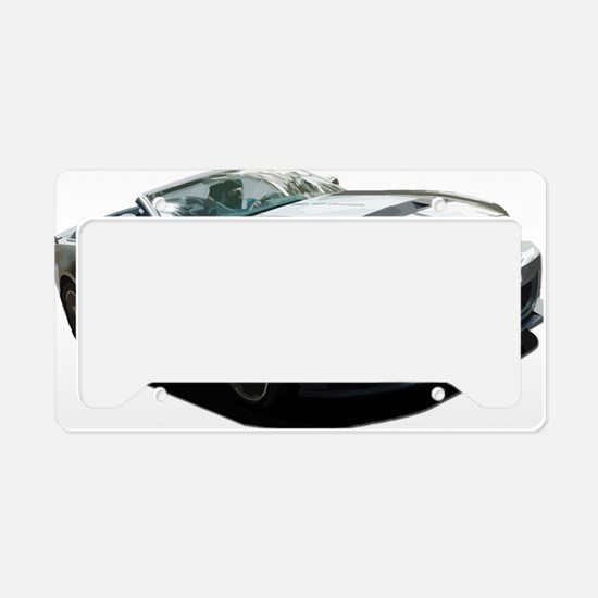 Cute Vintage car License Plate Holder