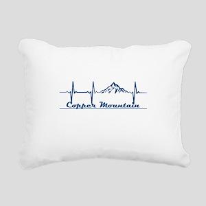 Copper Mountain Resort Rectangular Canvas Pillow