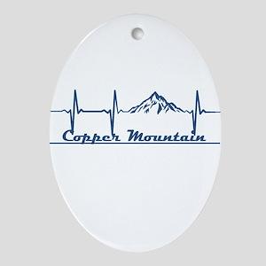 Copper Mountain Resort - Copper Mo Oval Ornament