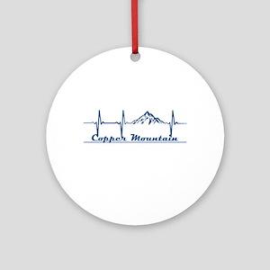 Copper Mountain Resort - Copper M Round Ornament