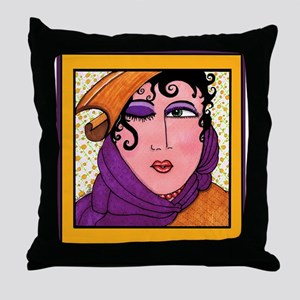 Like To Flirt? Divas Do! Throw Pillow