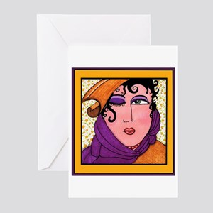 Like To Flirt? Divas Do! Greeting Cards (Package o