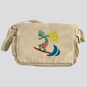 Kokopelli Surfer Messenger Bag
