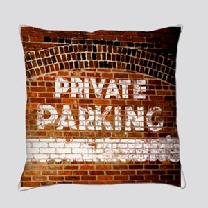 Private Parking Everyday Pillow